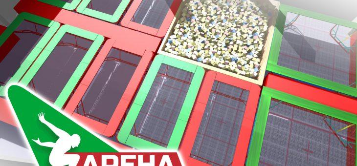 В Алматы открылся первый батутный комплекс